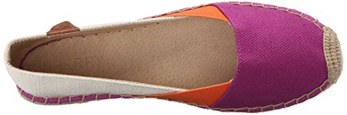Donne Blocco Piatto Rosa Brillante Delle Top Arancio Katama Sperry sider Balletto Brillante Mantello xwRq0ZY8