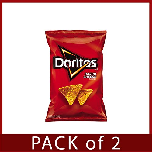 Doritos Nacho Cheese Tortilla Chips (3 oz. ea., 24 ct.) Pack of 2