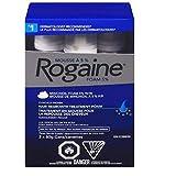 Rogaine Men's Hair Loss & Thinning Treatment, 5% Minoxidil Foam, 3 Month Treatment