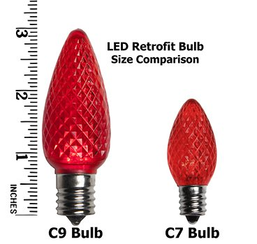 25 Pack C7 Replacement Bulbs