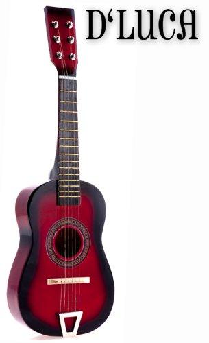 Red Acoustic Guitar Set - 7