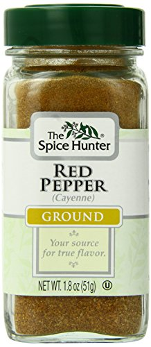 Spice Hunter Spices, Ground Red Pepper (Cayenne), 1.8 Ounce (Pack of 6) by Spice Hunter