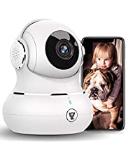 $38 » [2021 New] Indoor Security Camera, Littlelf 1080P WiFi Home Cameras with App for Phone, Pet Camera Baby Monitor with Night Vision, Motion Detection, Support Cloud & Micro SD Card Storage