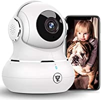 [2021 New] Indoor Security Camera, Littlelf 1080P WiFi Home Cameras with App for Phone, Pet Camera Baby Monitor with...