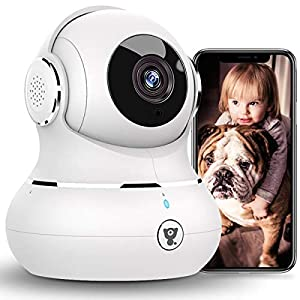 Flashandfocus.com 41tLezTnzbL._SS300_ [2021 New] 1080P Baby Camera Monitor, Littlelf Pan/Tilt Security Camera Pet Camera with Motion Detection, Smart Night…