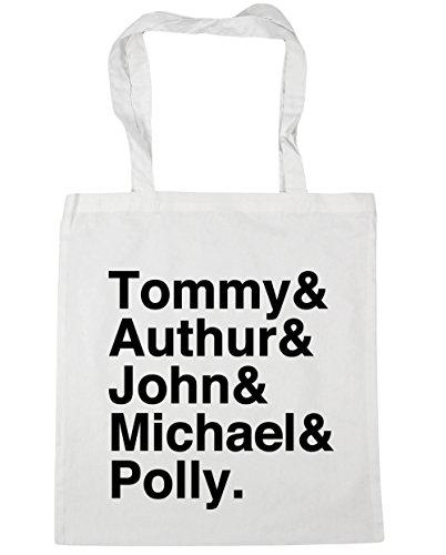 HippoWarehouse Shelby familia Tote Compras Bolsa de playa 42cm x38cm, 10litros blanco