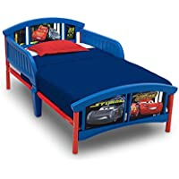 Delta Children Plastic Toddler Bed, Disney/Pixar Cars