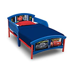 Delta Children Plastic Toddler Bed, Disney/Pixar Cars 7