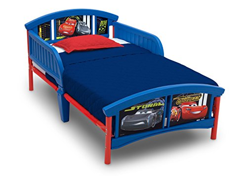Delta Children Plastic Toddler Bed, Disney/Pixar (Cars Bedroom)