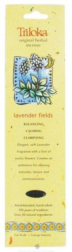 Lavender Fields - Triloka Original Herbal Incense Sticks