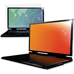 3M Gpf15.6W Gold Widescreen Notebook Privacy Filter (16:9) Gold . 15.6 . 15.6Lcd Notebook Product Type: Accessories/Screens & Filters by 3M