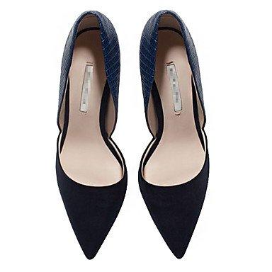 Shoes Materialia Matrimonio Comoda Formale E Estate ggx Tacchi Club Us5 Lavoro D'orsay Cn34 Primavera Eu35 Nude Uk3 Ufficio Donna Da Più Lvyuan Scamosciato Microfibra aUqF07F