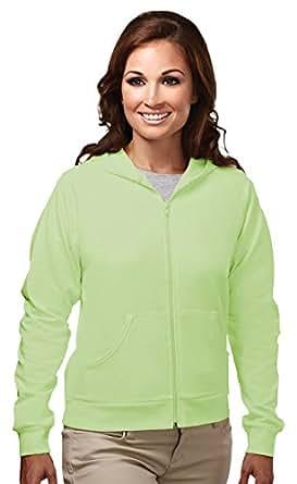 Tri-Mountain 60/40 Women's Lightweight Full Zip Hooded Fleece 639 Expression