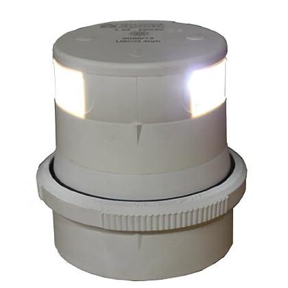 Image of Aqua Signal Masthead LED Navigation Light with White Housing