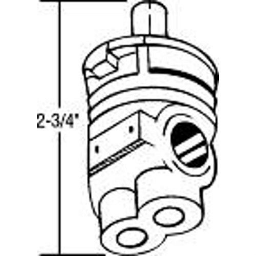 Proplus 163439 Proplus Cartridge for Milwaukee, Universal, Rundle, and Regent - (Universal Rundle Faucet)