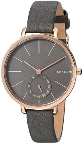 Skagen Women's SKW2396 Hagen Grey Leather Watch