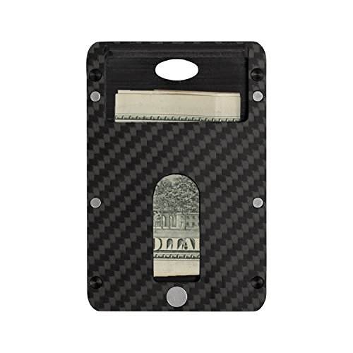 Holder Box PITAKA Minimalist Matte Modular Fiber Twill Blocking Carbon Wallet Card Finish RFID Magwallet Slim Layer wqC14