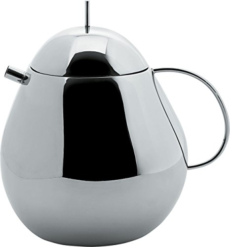 Officina Alessi Fruit Basket Teapot Holds up to 1 qt and 16 oz of liquid , -