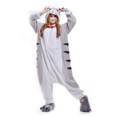 Animal Onesies Adult Kigurumi Costumes One Piece Pajamas for Men Women Unisex Teens Cat XL