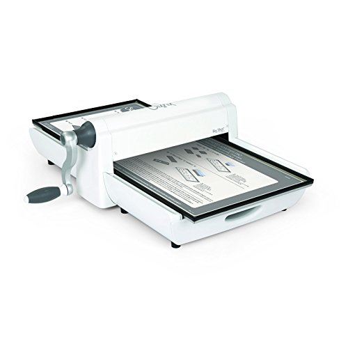 Sizzix 660900 Big Shot Pro Cutting/Embossing Machine with Extended Accessories, Large, White and  Gray by Sizzix
