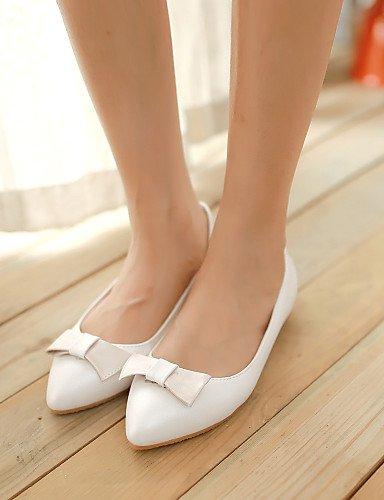 eu36 las zapatos Beige rosa cn36 blanco beige Flats uk4 Toe plano Casual de us6 mujeres señaló PDX talón Uf4Zqfx
