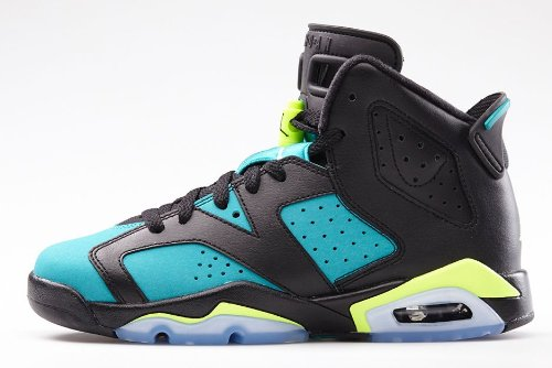 nike air jordan 6 retro GG hi top trainers 543390 sneakers s