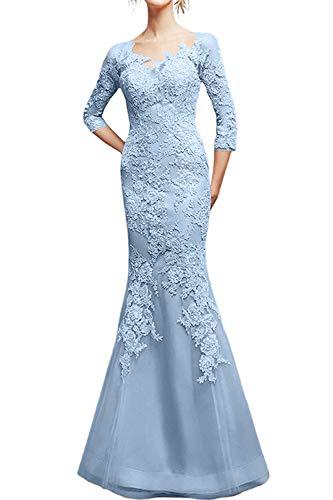Damen Ballkleider Figurbetont Marie La Schnitt Rosa Schmaler Himmel Partykleider Abendkleider Blau 2019 Braut Spitze wnZAtxStqC