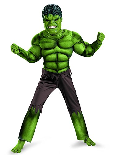 Boy's Incredible Hulk Costume large]()