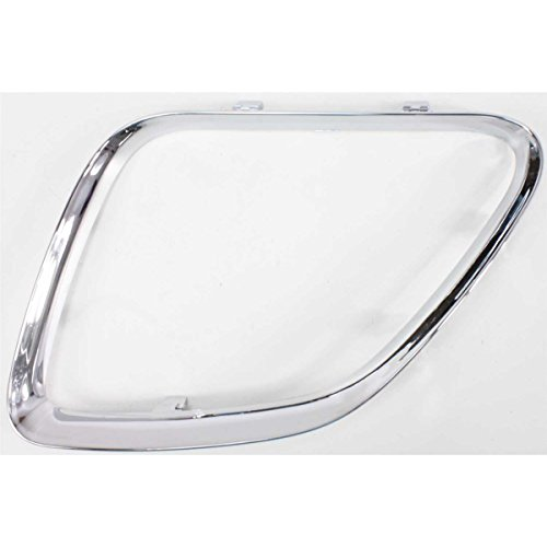 DAT AUTO PARTS Driver Side Upper Grille Replacement for 2005-2009 Pontiac G6 Left Chrome MOLDING GM1200542