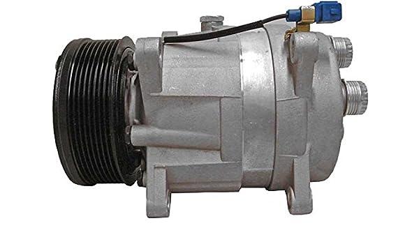 BEHR HELLA SERVICE 8FK 351 134-941 Compresor, aire acondicionado: Amazon.es: Coche y moto