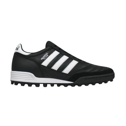 ピラミッド強調大使館adidas(アディダス) MUNDIAL TEAM (019228) ブラック/ランニングホワイト/レッド サッカースパイクシューズ (019228)