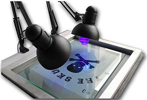 Ink Unit (Simple UV Exposure Unit Equipment for Silk Screen Printing Simple Type UV Exposure Unit Stencil Ink-jet Making Plate Light)