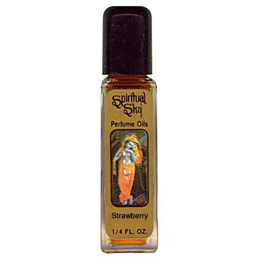 Strawberry - Spiritual Sky Scented Oil - 1/4 Ounce (Scented Strawberry Perfume)
