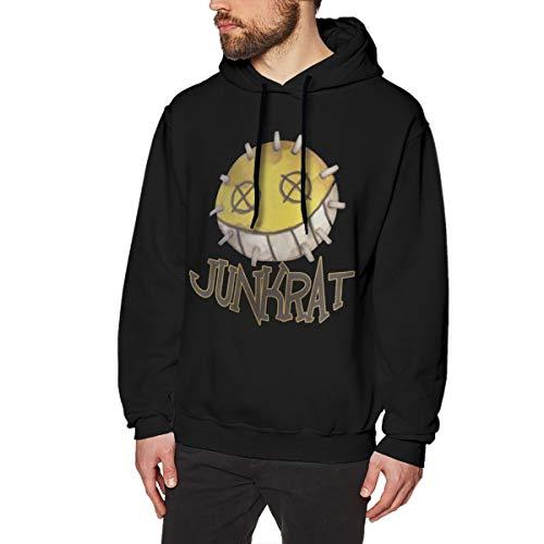 Sampaitary Men Overwatch Junkrat Fashion Printed Hoodie S Black