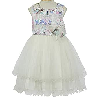 Pamina Gown For Girls - 10-11 Years, Multi Color