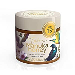 Manuka Honey UMF15+ bee-Friendly, eco-Friendly, raw and Pure by Tahi … (250 Gram)
