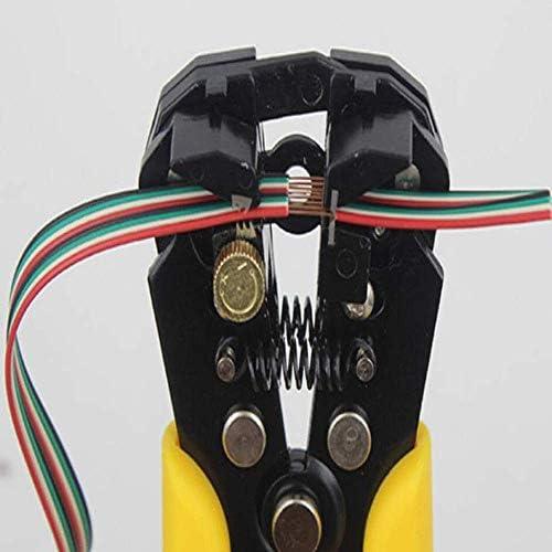 YKJ-YKJ ホームでの修理、屋外産業メンテナンス多機能新自動ストリッププライヤーセット(:イエローブラックカラー)に適し ペンチ