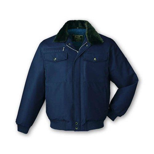 自重堂 9600 防寒ブルゾン(フード付) M~5L 作業服 防寒着 B077RKXRW5  ネービー(011) 4L