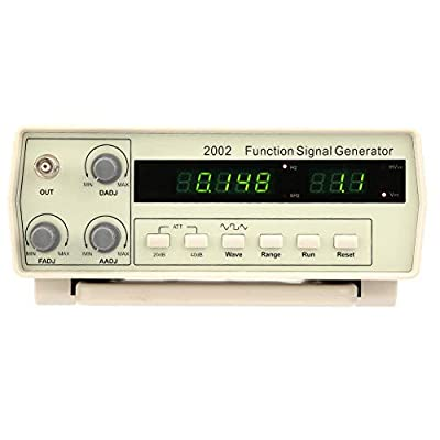 Multi-Functional Signal Generator, with Clip Test line VC2002 Multi-Functional Desktop Signal Generator 100-240V (US Plug)