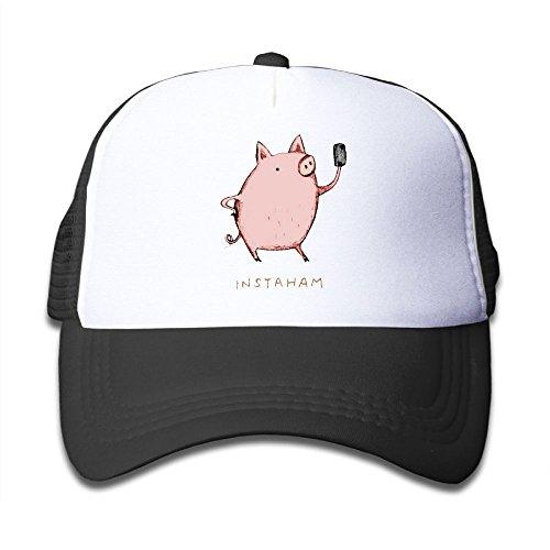 Toucan Hat Costume (Joijiouio Animal Puns Kids Sun Protection UnisexAdjustable Mesh Back Cap Black)