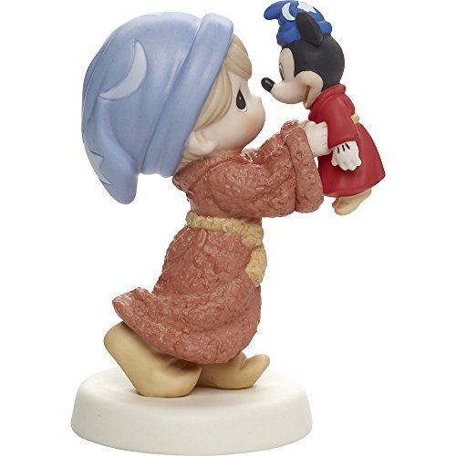 (Precious Moments, Disney Showcase Mickey Mouse Figurine, Everything With You Is Magical, Porcelain, #171091)