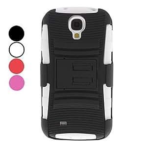 ZXM-Cinturón estuche rígido Clip desmontable con soporte para Samsung Galaxy S4 i9500 (colores surtidos)