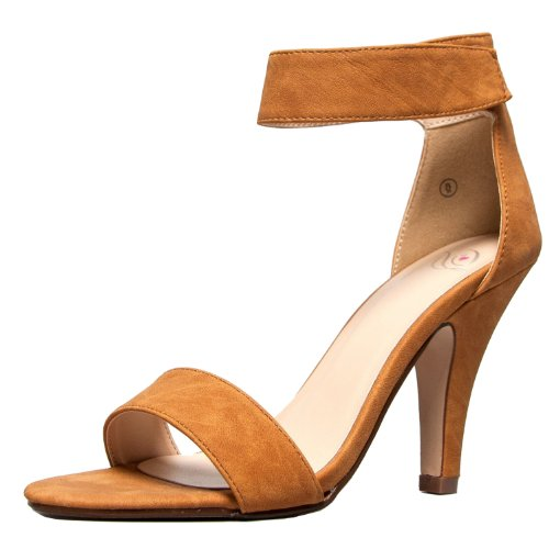 Image of Delicious Rosela Open Toe High Heel Ankle Strap Sandal