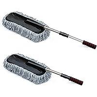 2-Set Fasmov Car Duster Microfiber Duster