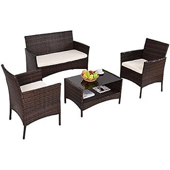 Amazon Com Patio Furniture Sets Clearance Conversation 4