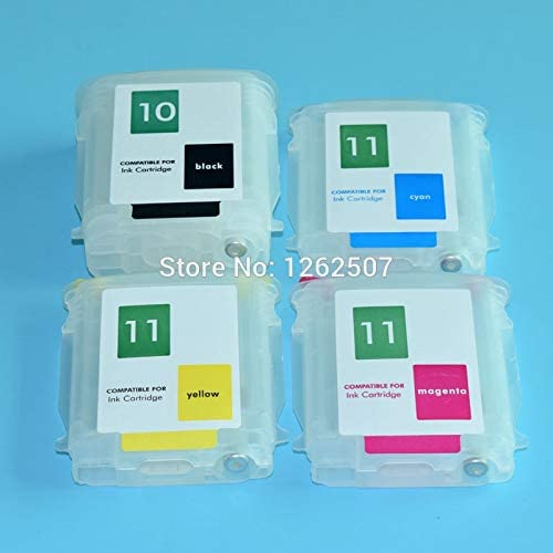 for HP 10 11 Ink Cartridge for HP Designjet 100 110 70 HP10 HP11 Printer Refill Ink Cartridge With Arc Chip Printer Spare Parts