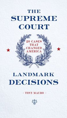 (The Supreme Court: Landmark Decisions: 20 Cases that Changed America)