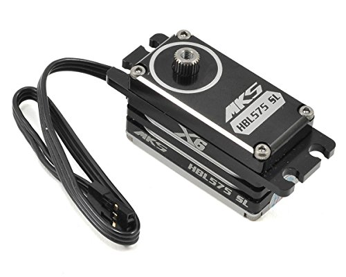 MKS Servos X6 HBL575SL Brushless Titanium Gear Low Profile Digital Servo (High Voltage)