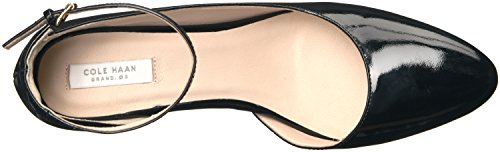 Cole Haan Women's Sadie Ankle Strap Wedge 85mm Platform Black Patent sale pre order 100% guaranteed sale online elrXQdT