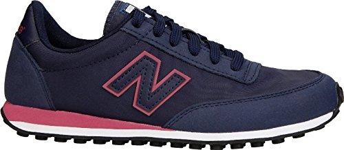 New Balance Zapatillas Mujer WL410 Nap Azul Marino y Rosa T-36: Amazon.es: Zapatos y complementos